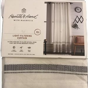 🆕 Hearth & Hand Magnolia Curtain Panel